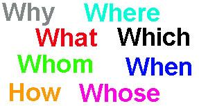 специальные вопросы английский